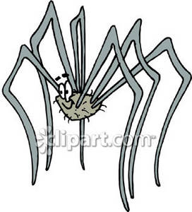 Super Spider Royalty Free Clipart Image