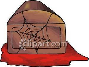 Web Covered Coffin