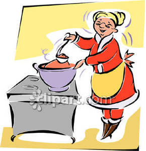 Mrs. Claus Cooking