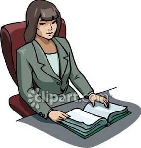 Ethnic Businesswoman Royalty Free Clipart Image