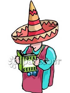 Tourist Wearing a Sombrero