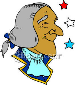 Cartoon of George Washington