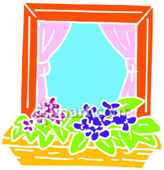 Flower Box in a Window