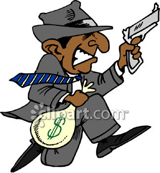 bank robber with a gun royalty free clipart picture rh clipartguide com robber clipart bank robber clipart