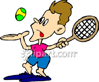 Girl Playing Tennis Clipart | Free Images at Clker.com - vector clip art  online, royalty free & public domain
