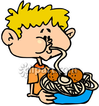 a boy eating spaghetti and meatballs royalty free clipart picture rh clipartguide com meatball clipart meatball clipart pictures