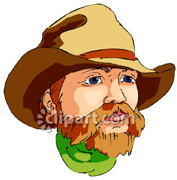 Clip Art Free Pictures. Cowboy Royalty Free Clipart