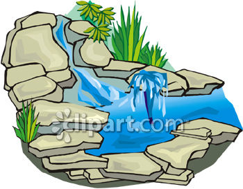 stone waterfall for a garden or yard royalty free clipart picture rh clipartguide com waterfowl clipart waterfall clip art images