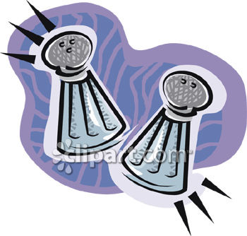 Salt and Pepper Shaker Clipart Picture