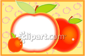 Artistic Apple Illustration