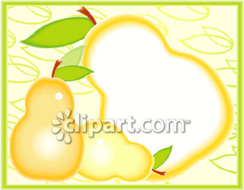 Artistic Pear Illustration