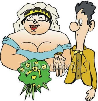 Skinny Guy Marrying a Fat Girl