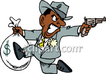 royalty free clip art image mobster bank robber running away with rh clipartguide com robber clipart robber clipart black and white