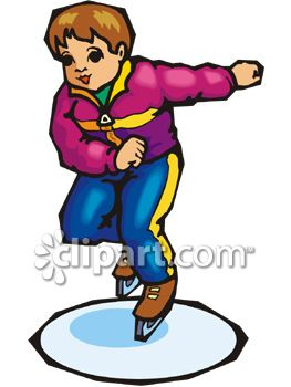 royalty free clipart image boy ice skating rh clipartguide com ice skating clipart skating clipart black and white