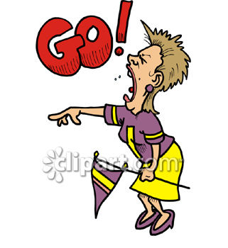 crazy woman football fan yelling go royalty free clip art picture rh clipartguide com A Crazy Woman at Computer Clip Art Clip Art Crazy Fat Woman