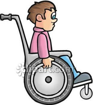 man in a wheelchair clip art royalty free clipart illustration rh clipartguide com clip art of a mentor clipart of a monkey