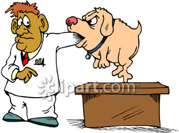 dog biting man veterinarian clip art royalty free clipart rh clipartguide com veterinarian clipart images veterinarian tools clipart