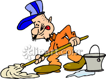 Man guy people mop mopping janitor700 gif clip art people occupations