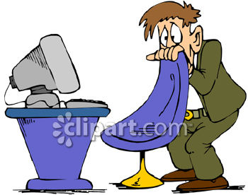 man scared of his computer clipart royalty free clip art image rh clipartguide com  free clipart scared person