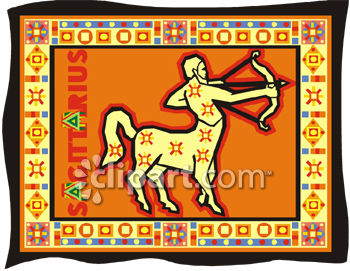 Sagittarius The Centaur Clip Art