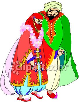 Middle Eastern Bride and Groom