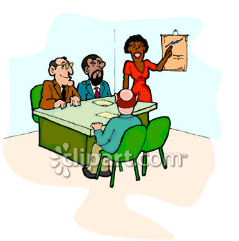 black woman leading a meeting with co workers clip art royalty rh clipartguide com clip art meeting clip art meeting pictures