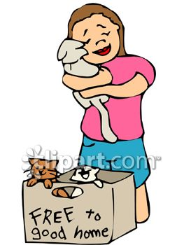 girl hugging a kitten from a free kittens box royalty free clipart rh clipartguide com cat with kittens clipart clip art kitten sleeping