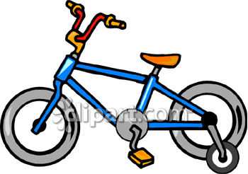 A Bicycle With Training Wheels