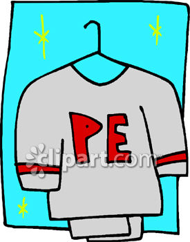 a school physical education uniform royalty free clipart image rh clipartguide com animated physical education clipart physical education teacher clipart