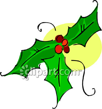 holly leaves and berries royalty free clip art illustration rh clipartguide com  holly leaves clip art black and white free