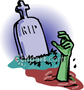royalty free clip art image a zombie hand coming out of a grave rh clipartguide com