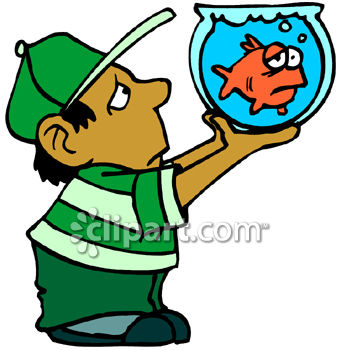 boy holding a sad goldfish in a bowl royalty free clipart picture rh clipartguide com clipart commercial use clipart commercial use