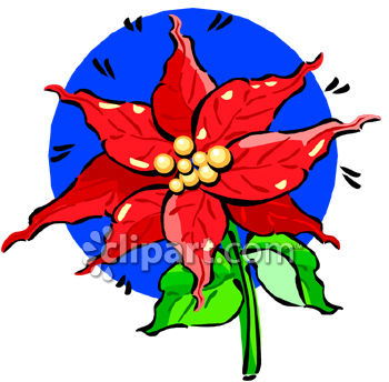 poinsettia flower royalty free clip art image rh clipartguide com free poinsettia clip art borders free poinsettia clipart border