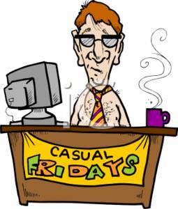 One day closer to the weekend... - Page 2 0511-0701-3114-1315_Businessman_on_Casual_Friday_clipart_image