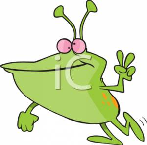 clipart of a martian displaying a piece sign rh clipartguide com martin clip art marvin martian clipart