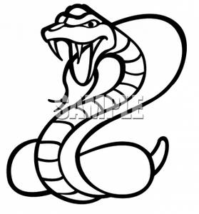 clipart of a poisonous cobra snake rh clipartguide com cobra clipart cobra clip art graphics