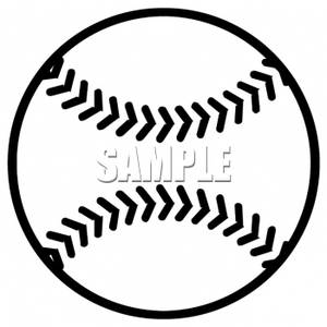 clip art of a black and white baseball rh clipartguide com baseball glove clipart black and white baseball player clipart black and white
