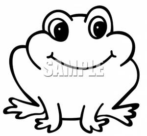 Cute Smiley Frog