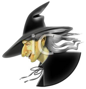 Witch in Profile