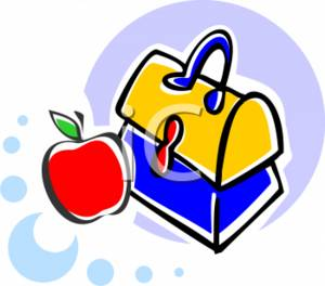 Apple and Lunchbox