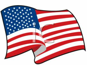clipart image of a waving american flag rh clipartguide com American Flag Clip Art Animated American Flag Background Clip Art
