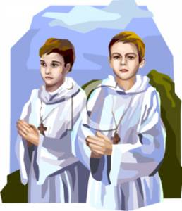 Altar Boys Praying