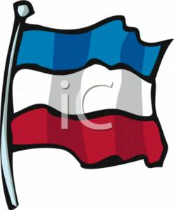 Clipart Picture Of The Yugoslavian Flag