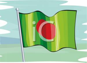 Country of Bengal Flag
