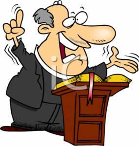cartoon clipart picture of a priest speaking to his church rh clipartguide com holy mass clipart midnight mass clipart