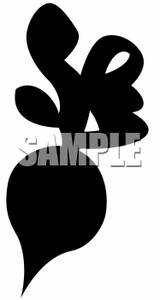 Beet Silhouette