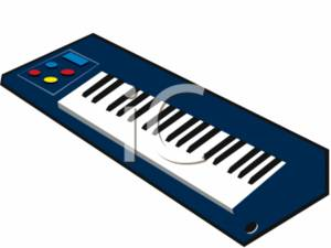 clipart image of an electric keyboards rh clipartguide com  music keyboard clipart free