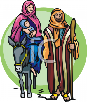 Joseph, Mary and the Baby Jesus