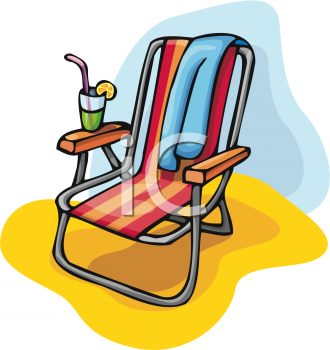 Beach Chair and Cocktail