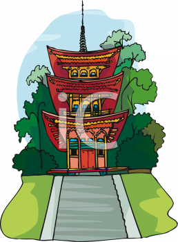 Oriental Building or House